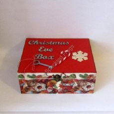 'Cookies and Candy Canes'. Christmas Eve Box